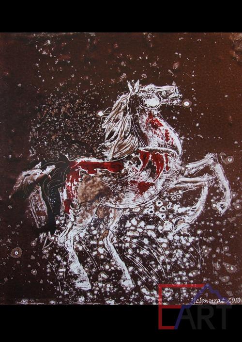 Раненный конь 1