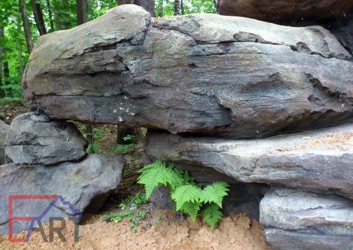 Искусственный камень из арт бетона