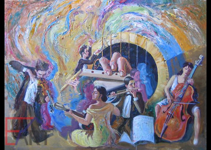 Акустическая музыка. Жанровая живопись