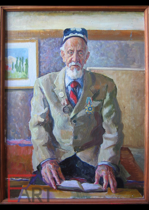 Портрет академика искусствоведа Р.Х. Такташа