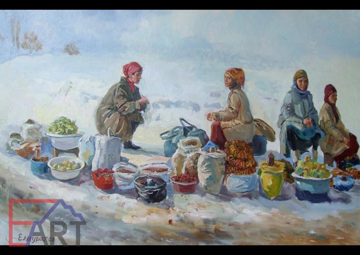 Зимний базар