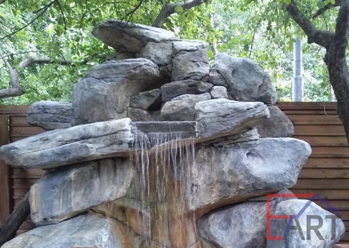 Водопад в ресторане (г.Одинцово)