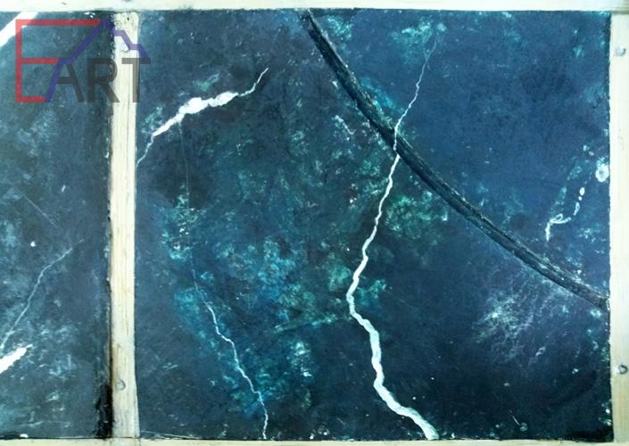 Макет-эскиз имитации мрамора