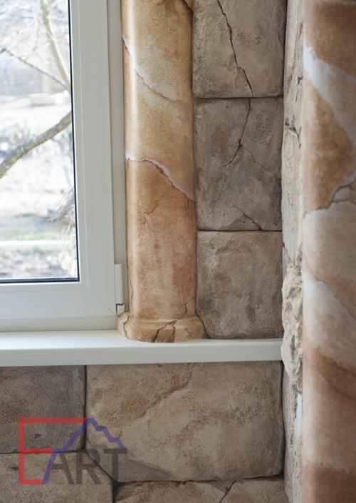 Мраморные колонны из бетона