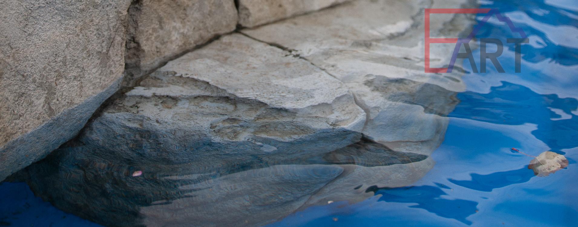 искусственный камень из бетона под водой